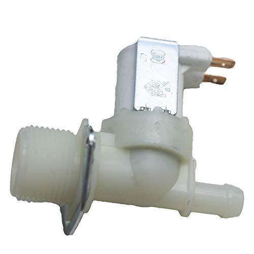 Magnetventil Ventil Einlaufventil für Waschmaschine oder Spülmaschine 1-fach 180° 11,5mmØ
