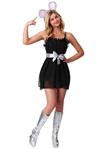Mean Girls Karen Smith I'm a Mouse, Duh! Costume Medium Black