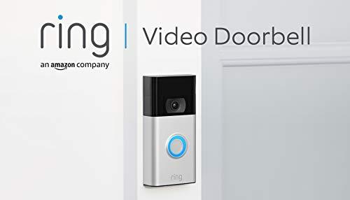 Ring Video Doorbell von Amazon | 1080p HD-Video, fortschrittliche Bewegungserfassung und einfache Installation (2. Gen.) | Mit 30-tägigem Testzeitraum für Ring Protect