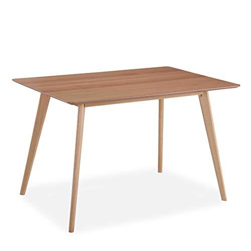 All About Chairs Esstisch, rechteckig, mit Eichenholzplatte und Eichenbeinen