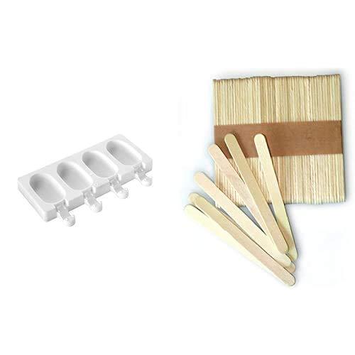 Product 1: Preparad buenos polos y tapas Product 1: Résiste al frío (hasta -60°C) - Se puede utilizar en el lavavajillas Product 1: Libro de recetas incluído (en alemán) Product 1: 50 Palitos incluídos Product 2: Juego de 100 unidades Product 2: Dime...