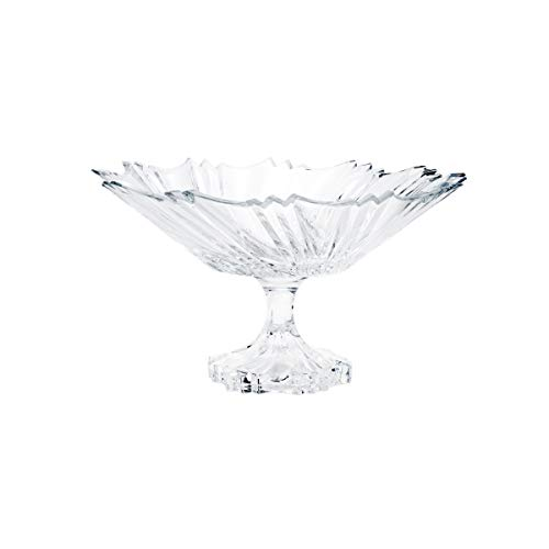 Rojemac Fruteira de Cristal com Pé, Transparente