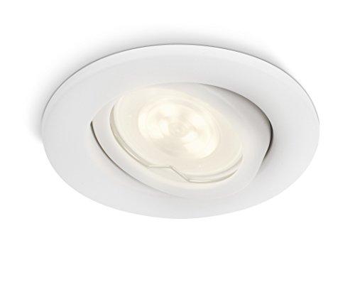 Philips luminaire extérieur LED spot encastrable Fresco blanc