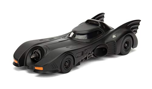 Jada- Batmóvil Coche Metal 1989 1:32 coleccionismo, Color negro (253212001)