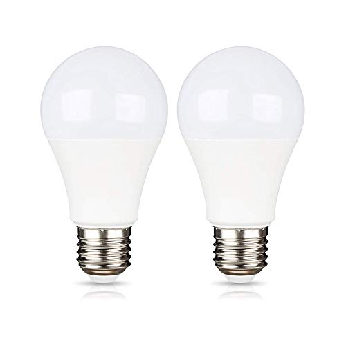 Glühbirne E27 12V LED Lampe 9W Kaltweiß 6000K für Wohnmobil/Gartenhaus, 24 Volt E27 Garagelampe, 270 Grad, LED Leuchtmittel E27 12 Volt 24V ac dc für Camping Carport, Nicht Dimmbar, 2er-Set