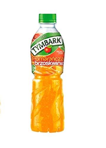 GroßhandelPL Tymbark Multi-Frucht-Getränk Orangenpfirsiche Fruchtsäfte 12er Pack ( 12x500ml)
