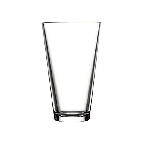 DALIZHAI2021 Gafas de Cerveza Conjunto de 5 Tazas de Cerveza de Cristal 470ml Adecuado para hogar, Oficina, Bar o en Cualquier Lugar de la Boca Ancha Taza de Cerveza Fuerte y Robusta