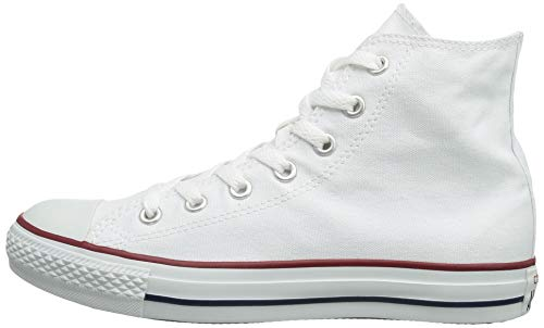 Converse CHUCK TAYLOR ALL STAR Unisex Optical White Canvas High Top Sneaker Shoes