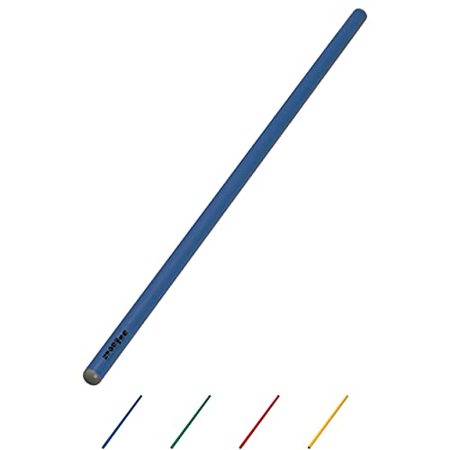 Sport-Tec Turnstab Senior aus Kunststoff, Gymnastik Stab, Trainingsstab, 100 cm