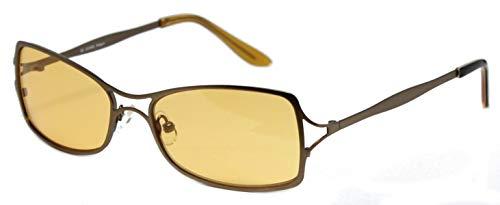 Freestyle Sonnenbrille 400UV Markenbrille Argenta Rechteck orange Doppelsteg