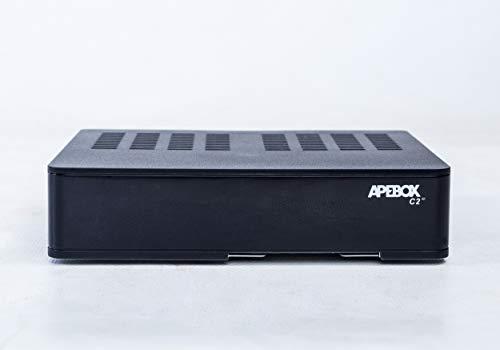 Apebox C2 4K - Receptor Satélite Combo UHD DVB-S2X Multistream + DVB-T2/C H.265/HEVC, con Lector de Tarjetas CA y conexión a Internet