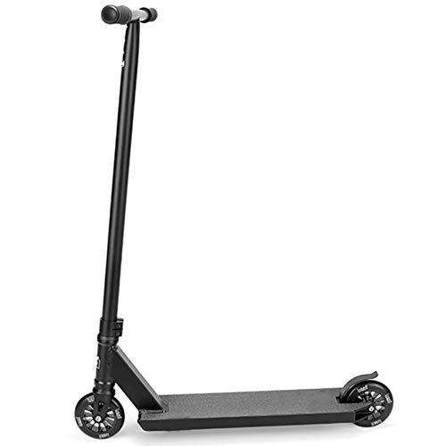 Tricks Freestyle Scooters - Street Stunt Scooter con ruedas de aleación de 110 mm - ABEC 9 rodamientos - Cubierta de aluminio - para niños, niñas, niños, adolescentes, mayores de 8 años, principiant