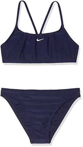 Nike Mädchen 93173-440 Bikini, Marineblau, 16