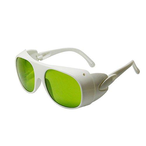 Q-BAIHE Sécurité oculaire Lunettes de Protection pour 1064nm Yag Laser de Coupe–Absorption