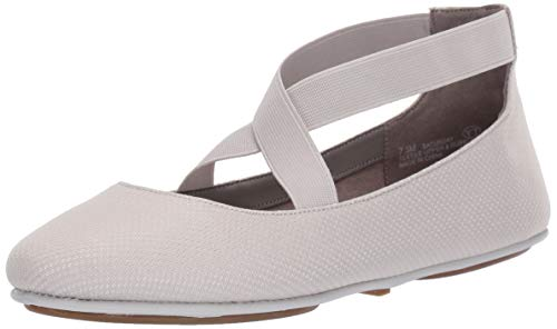 Aerosoles Women's Saturday Ballet Flat, Grey Fabric, 8 M US