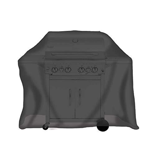 tepro Abdeckhaube Universal für Gasgrill groß, schwarz (70 x 150 x 110 cm)