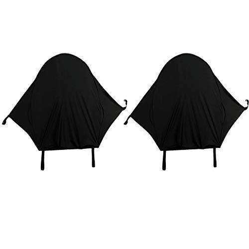 F Fityle 2pcs Pram Shade Poussette Sun Cover Buggy Canopy Poussette UV Protection Infantile