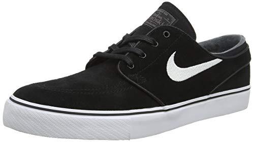 Nike Herren Zoom Stefan Janoski 333824-067 Sneakers, Mehrfarbig (Black/White/Thunder Grey/Gum Light Brown 001), 41 EU