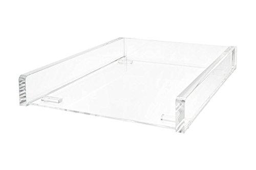 Wedo 608016 Acryl Briefablage (Cristallic A4, stapelbar) glasklar