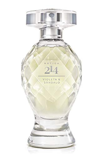 Botica 214 Violet & Sandalwood Eau de Parfum by O Boticario | Long Lasting Perfumes for Women | Lush Green Floral Fragrance For Women (2.5 fl oz)