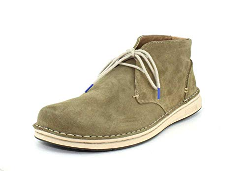 Birkenstock New Men's Troy Chukka Boot Khaki Suede 46 R