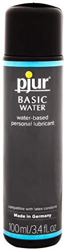 pjur BASIC WATERBASED - Gleitgel auf Wasserbasis für Einsteiger - auch für Toys geeignet - 1er Pack (1 x 100 ml)