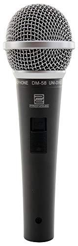 Pronomic DM-58 microfono vocal Mikrofon con interruptor