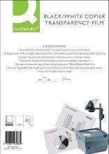 Q-Connect Kopier-Folien f. s/w Kopierer - A4, 0,10 mm, 100 Folien
