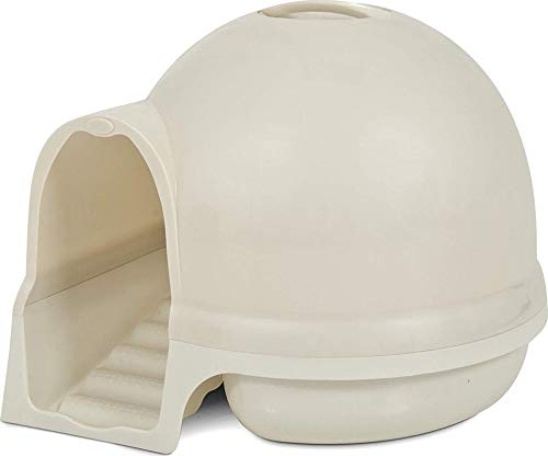 Petmate Booda Dome Clean Step Cat Litter Box 3 Colors, Pearl White