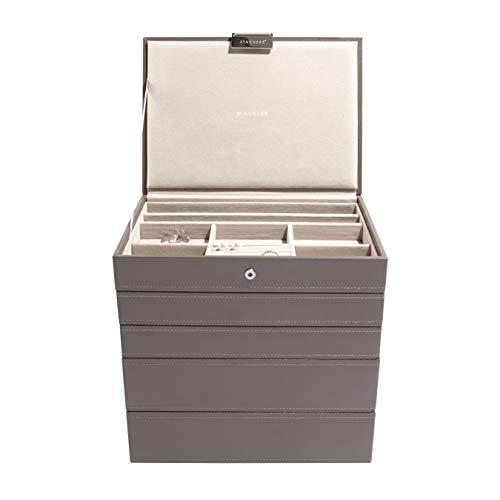 Stackers Mink Classic Medium Jewellery Box, Set of 5