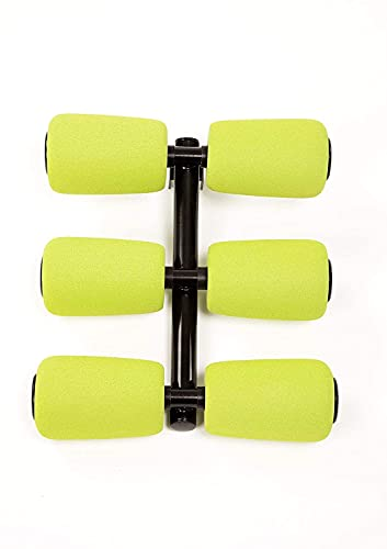 AB Doer 360 Workout Equipment for Total Core and Abs Exercise, Fat-Burning, Toning, and Fitness at Home, AB Doer 360 6 Pack Massage Roller Kit