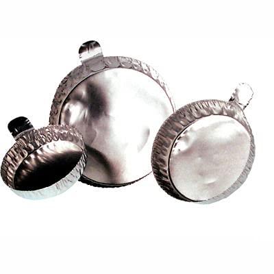 Qorpak MET-03105 43mm Aluminum Weighing Dishes, Case of 1000