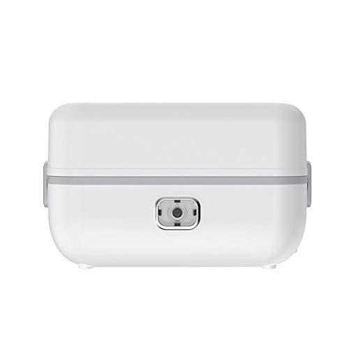 Caja de almuerzo gylazhuzizfh, El almuerzo de acero inoxidable caja eléctrica térmica Calefacción vapor del alimento Cocinar contenedor portátil Oficina Mini Arrocera 2L grande (Color : 1 Layer)