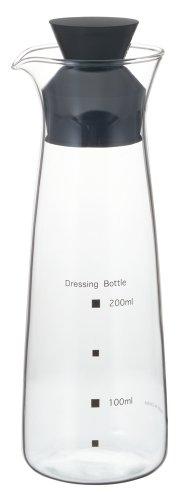 iwaki(イワキ) 耐熱ガラス ドレッシングボトル 300ml K5014-BK KT5014-BK