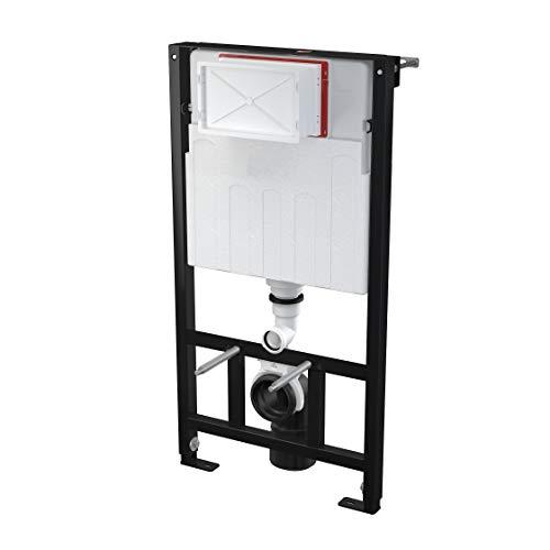 AlcaPlast AM101 WC Montageelement   Unterputz Spülkasten zur Wandmontage, Einbauhöhe:100cm