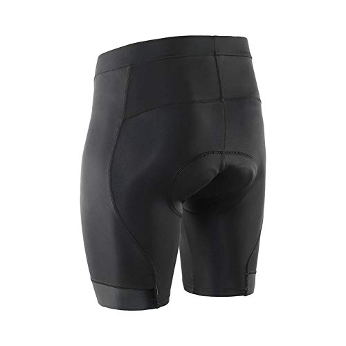 clothing Herren Radhose reflektierende dünne Stretchhose Rennradhose Mountainbike Shorts,Black-S