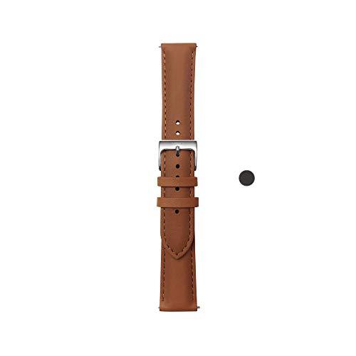 Withings Bracelet en Cuir Premium pour ScanWatch, Steel HR, Steel HR Sport, Move ECG, Move and Steel [Exclusif Amazon]