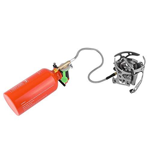 Ong Estufa de Aceite, 4500W 530ML Gasolina/Diesel/Estufa de Gas butano, Horno para mochileros, Estufa para mochileros, Picnic para jardín, Camping/Pesca/Escalada al Aire Libre