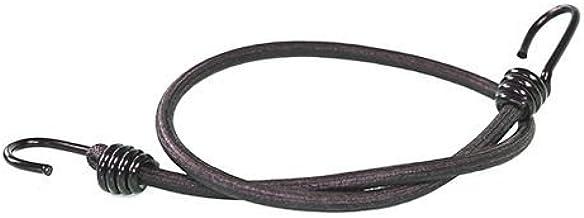 10 expanderkabels met 2 spiraalhaken 400 mm zwart 8 mm | verschillende lengtes | fiets spanrubber | bagageelastiek | expan...
