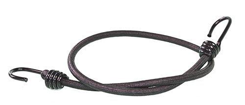 10 Expanderseile mit 2 Spiralhaken 400 mm schwarz 8mm | verschieden Längen | Fahrrad Spanngummi | Gepäckseil | Gepäckgummi | Expander mit 2 Metallhaken | Haken | Hakengummi | Gummi für Ladungssicherung | Gepäck Expanderseil | Expander | Gummiseil |