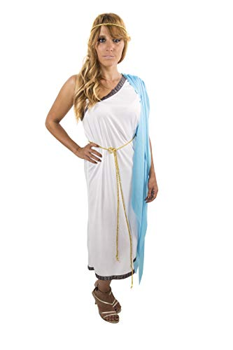 Costumizate! Disfraz de Romana para Mujer Adulto Especial para Fiestas de Disfraces y Carnaval Talla Unica
