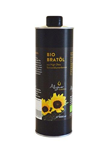 BIO Sonnenblumen-Bratöl 1000ml