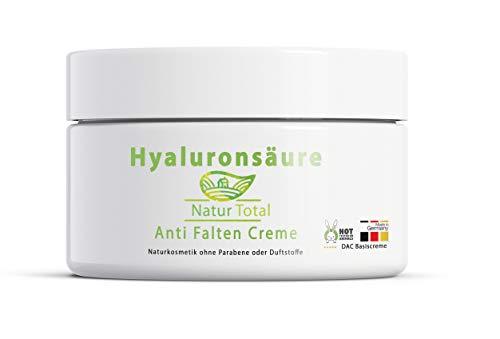 Hyaluronsäure Anti Falten Creme -Feuchtigkeitscreme: 50ml mit Hyaluron - die Basiscreme DAC ist eine wichtige Stammzubereitung des Deutschen Arzneimittel-Codex