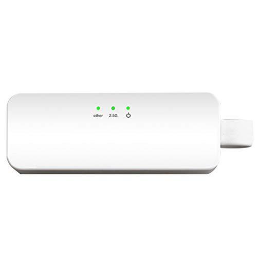 イーサネットアダプタ, ホワイト耐久性ネットワークアダプター、LANアダプターコンバーター、 10 / Vista / XP用イーサネット機能2.5G