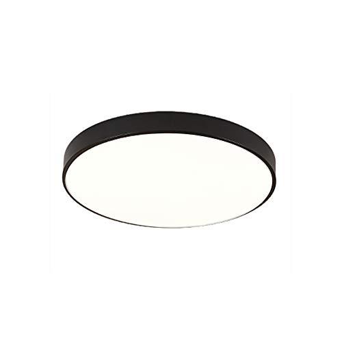 LED Moderno Lámpara De Techo,Iluminación de techo de interior,Plafón de techo, lámpara de techo para pasillo salón dormitorio (Blanco Frio 18 W, 30 CM)