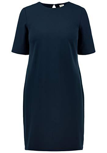 ONLY Estelle Damen Abendkleid Cocktailkleid Festliches Kleid Mit Rückenausschnitt, Größe:M, Farbe:Dark Saphire