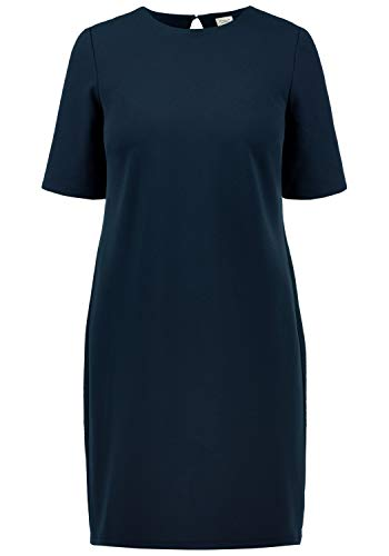 ONLY Estelle Damen Abendkleid Cocktailkleid Festliches Kleid Mit Rückenausschnitt, Größe:S, Farbe:Dark Saphire