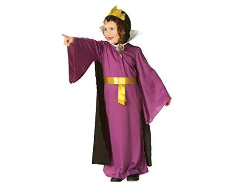 Disney - Disfraz de Reina Malvada de Blancanieves para niña, infantil 5-7 años (Rubie