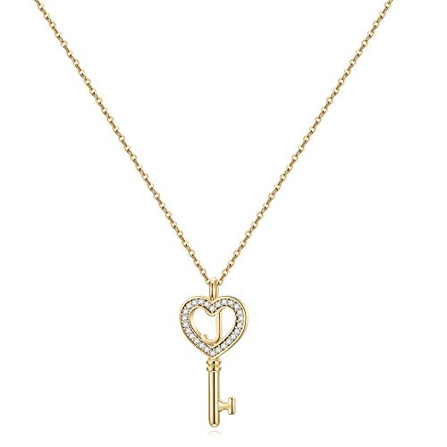 (60% OFF) Key Initial Necklace $4.80 – Coupon Code