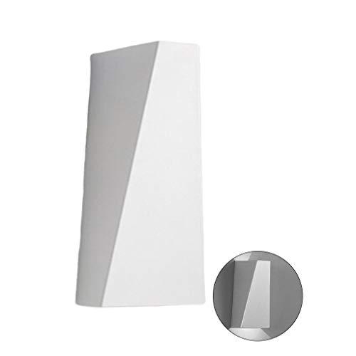 Ocobudbxw Mode Moderne LED Applique Murale Étanche Applique Murale Extérieure Lampe Éclairage Extérieur